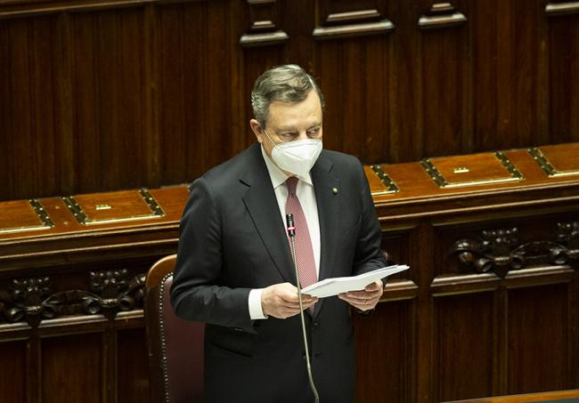 Il discorso integrale di Mario Draghi alla Camera dei Deputati