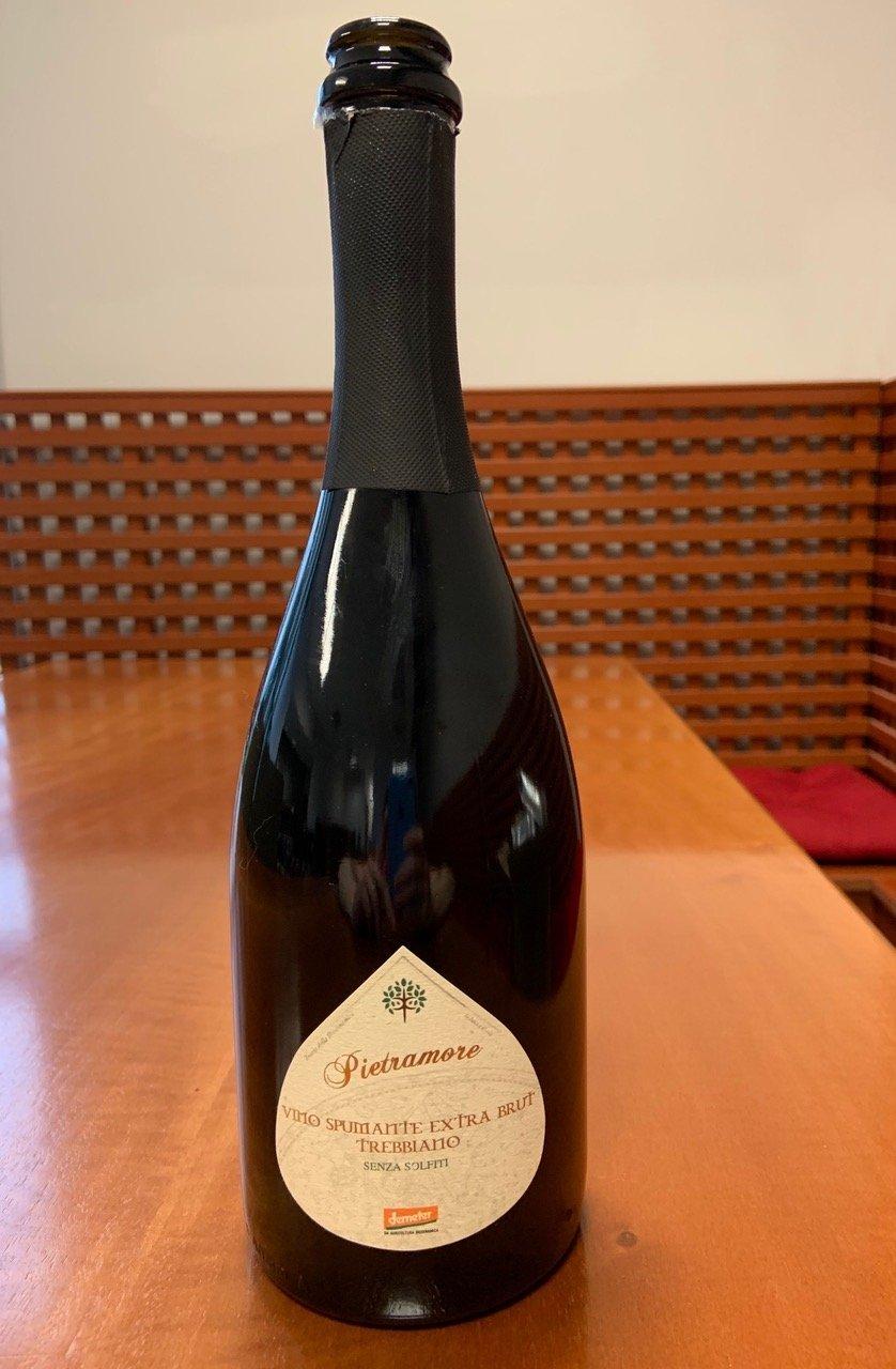 Il vino della settimana: Trebbiano spumante extra brut di Antica Tenuta Pietramore
