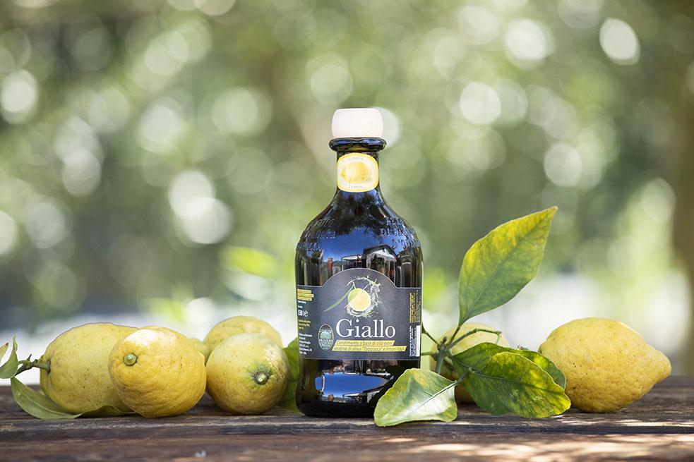 Il giallo del limone, il giallo dell'olio