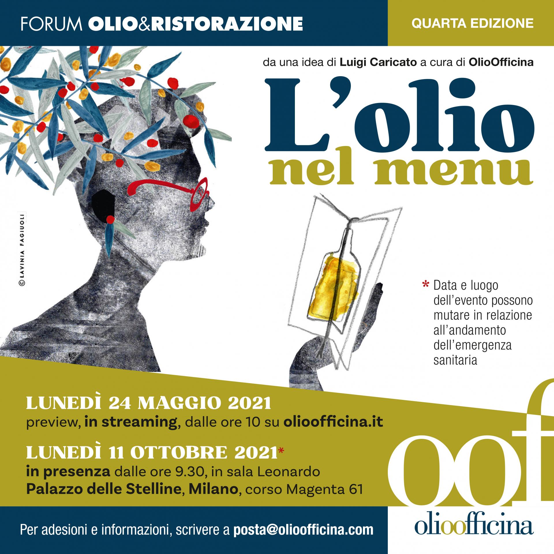 Forum Olio & Ristorazione. Segui la diretta