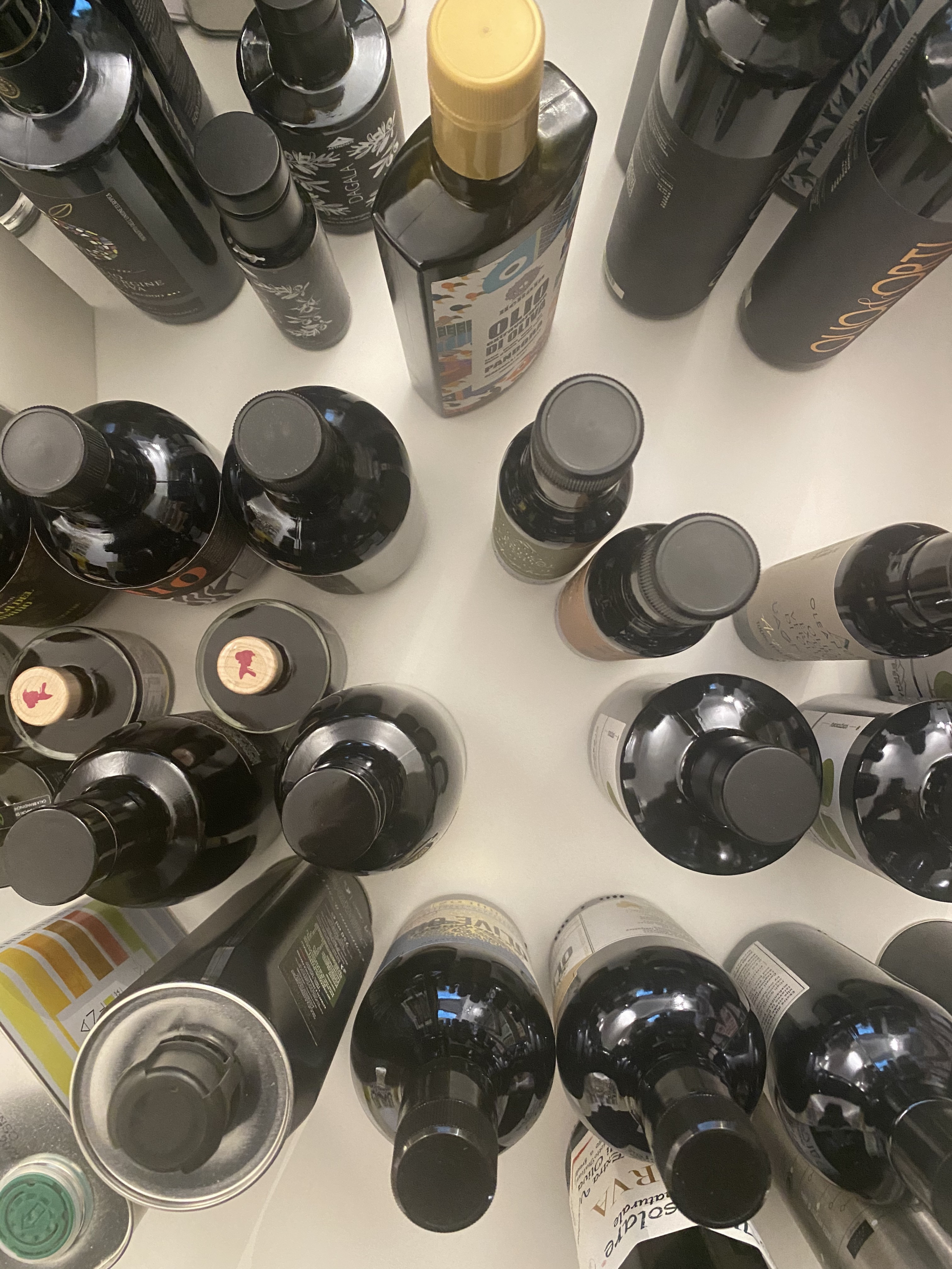 Olive Oil stocked in Italy. Update of 31 May 2021