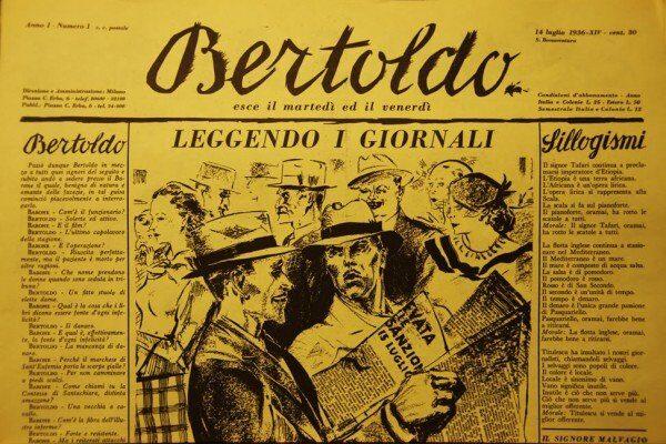 Focus su Dino Formaggio, Guido Oldani e la rivista «Bertoldo»