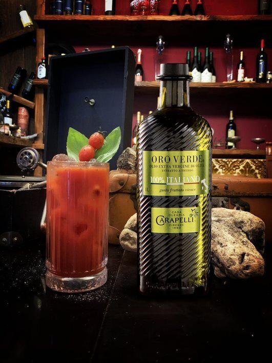 Due cocktail a base di olio extra vergine di oliva