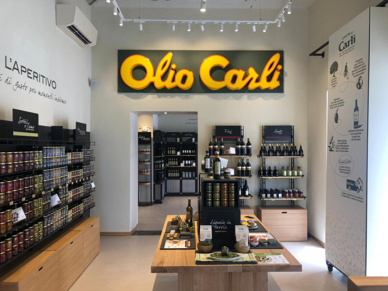 La strategia di vendita di Olio Carli si evolve