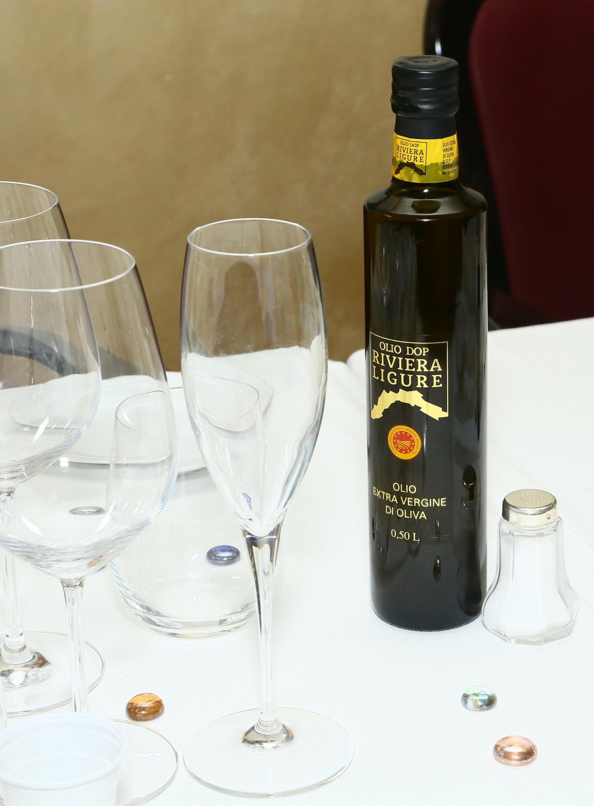 L'Olio Dop Riviera Ligure sarà protagonista di primo piano