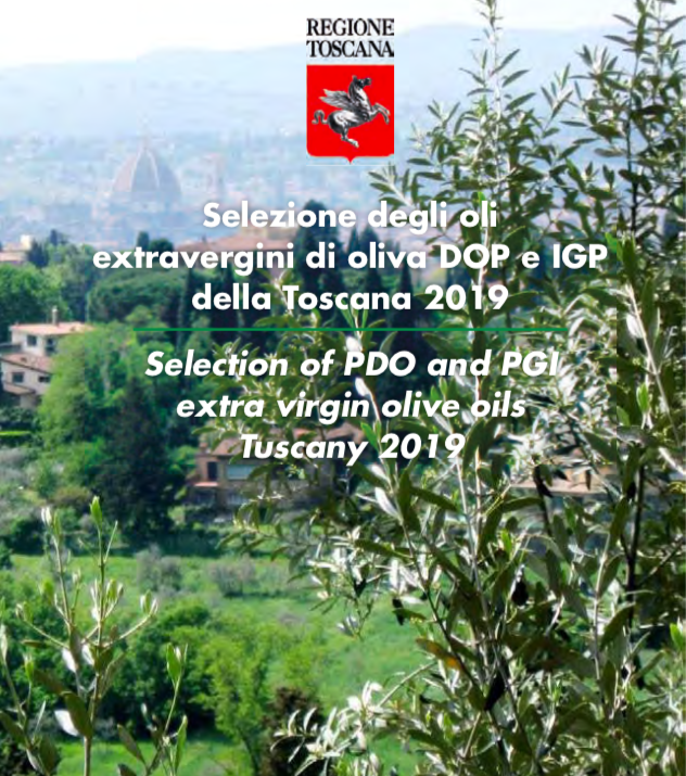 La Selezione 2019 degli oli extra vergini di oliva Dop e Igp della Toscana