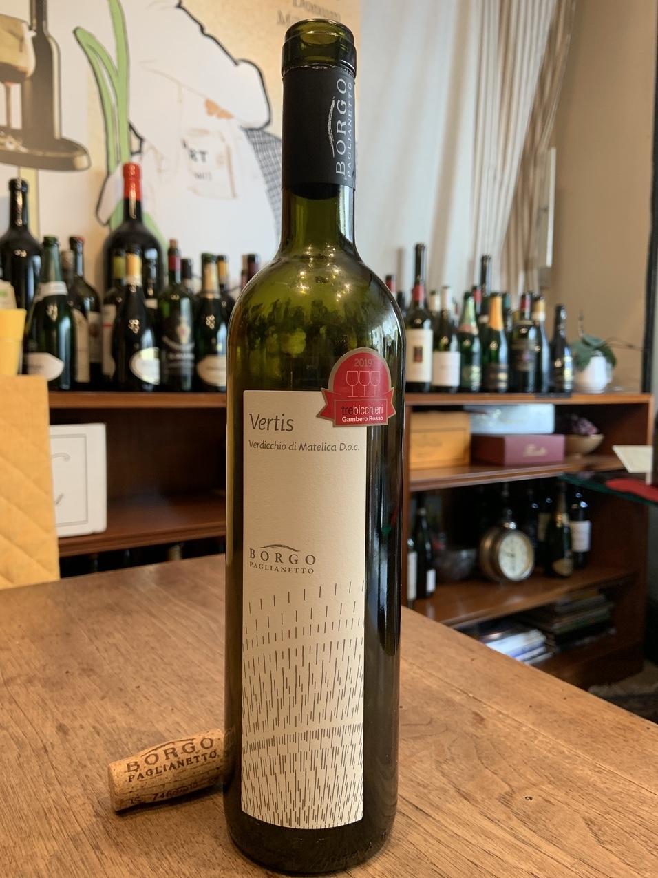Il vino della settimana: il Verdicchio di Matelica 2016 di Borgo Paglianetto