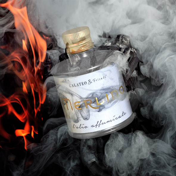 Esiste l'olio affumicato. Si chiama Merlino