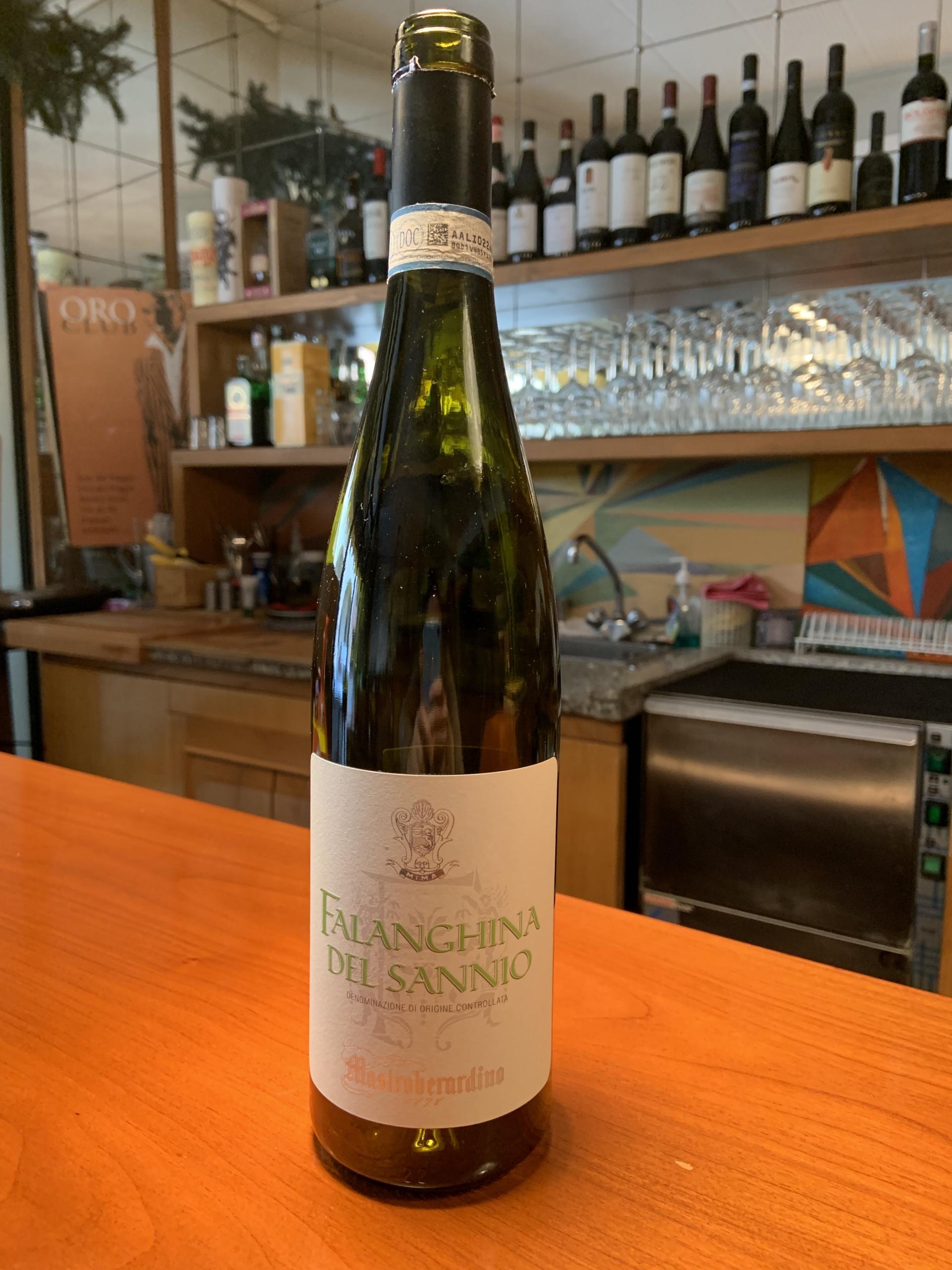 Il vino della settimana: Falanghina del Sannio 2017, di Mastrobernardino