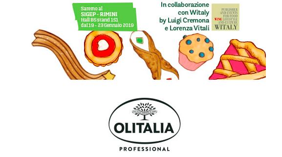 Olitalia al Sigep di Rimini con due assi della pasticceria