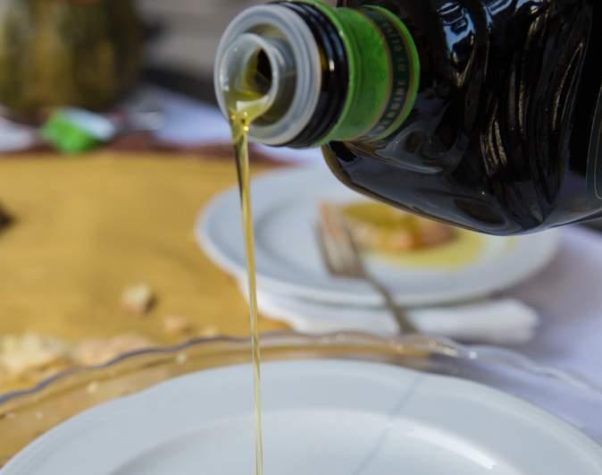 Maiale e olio di oliva