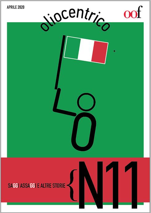 La copertina di Oliocentrico numero 11 prima della pubblicazione