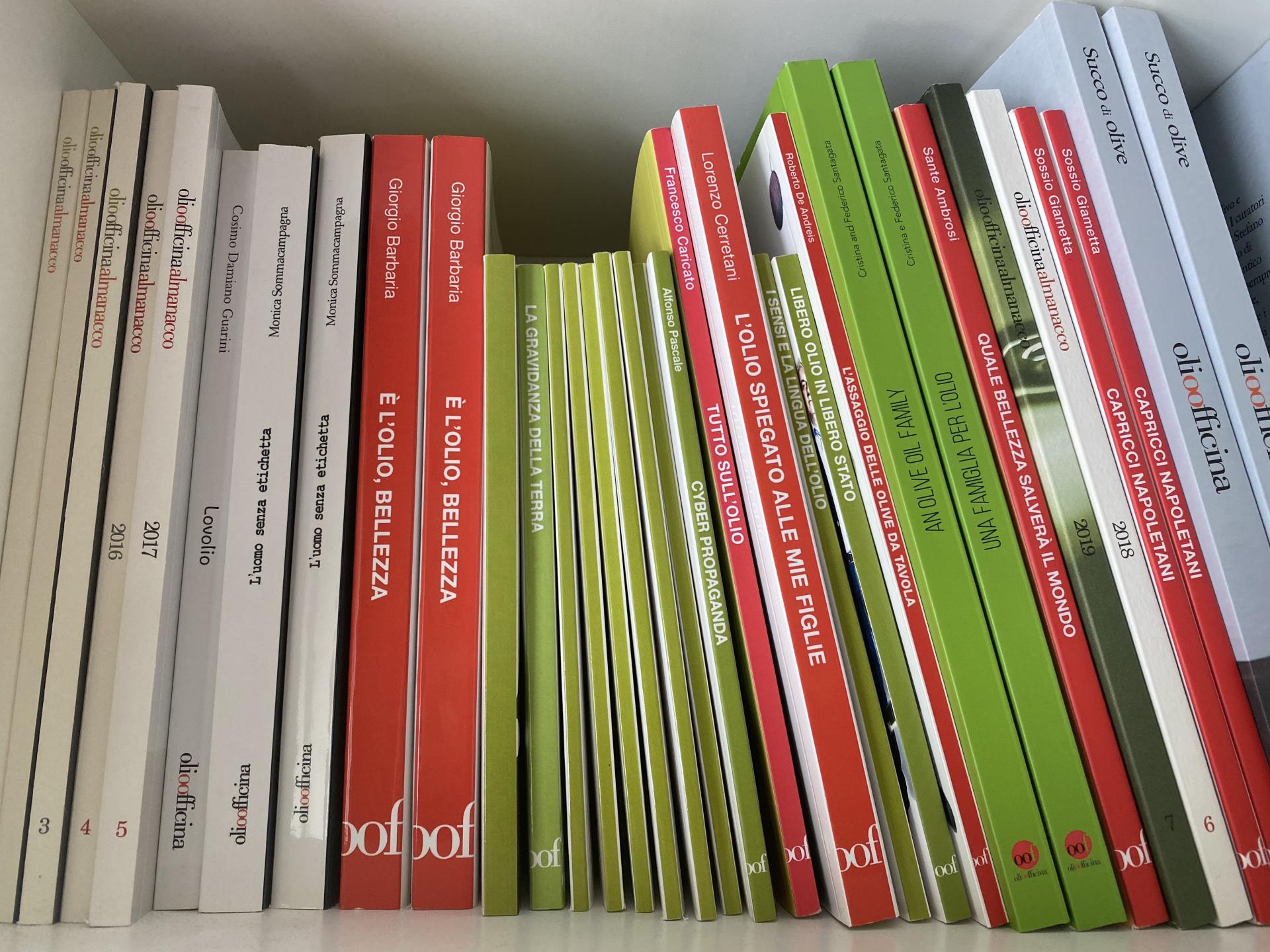 I libri per conoscere e approfondire una materia viva come l'olio
