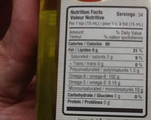 Etichette alimentari chiare