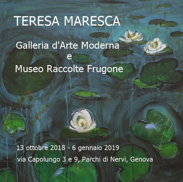 Teresa Maresca, Immersioni e nature: a Genova una mostra a cura di Maria Flora Giubilei e Raffaella Resch
