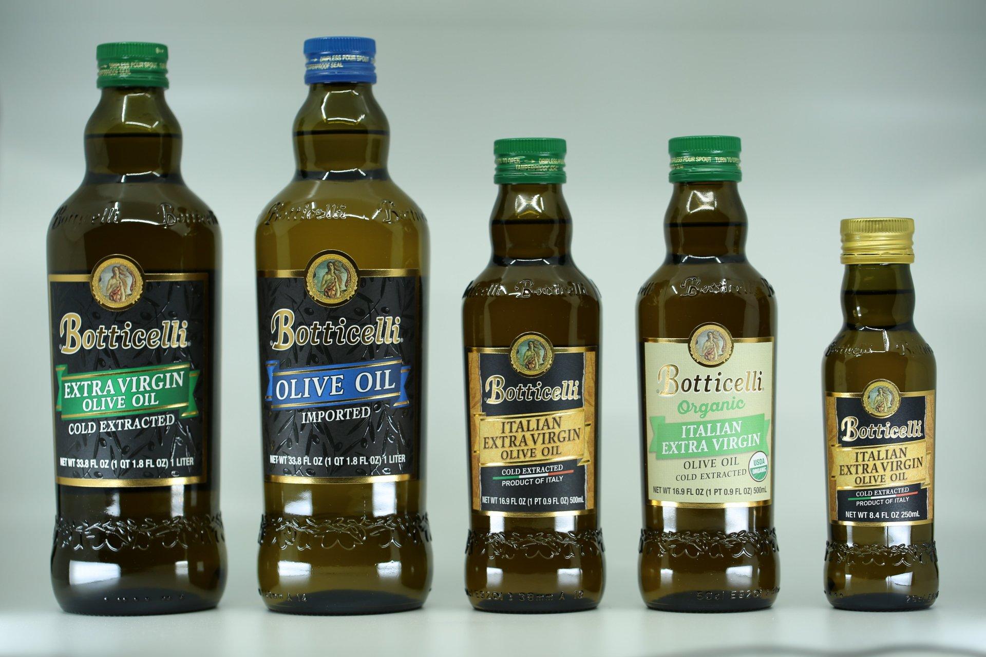 Una nuova veste per l'olio a marchio Botticelli