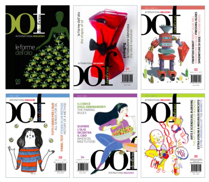 Eccole, le cinque copertine (più una) di OOF International Magazine