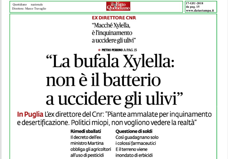 Le bufale sulla Xylella