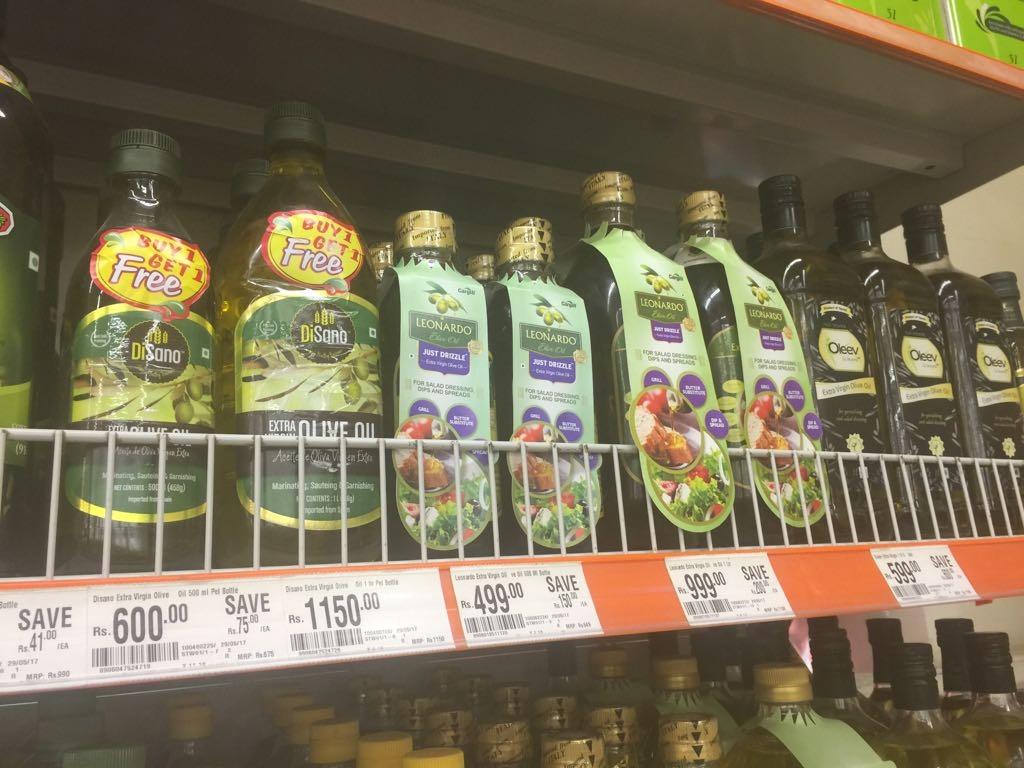 I dazi sull'olio? Nemici della salute