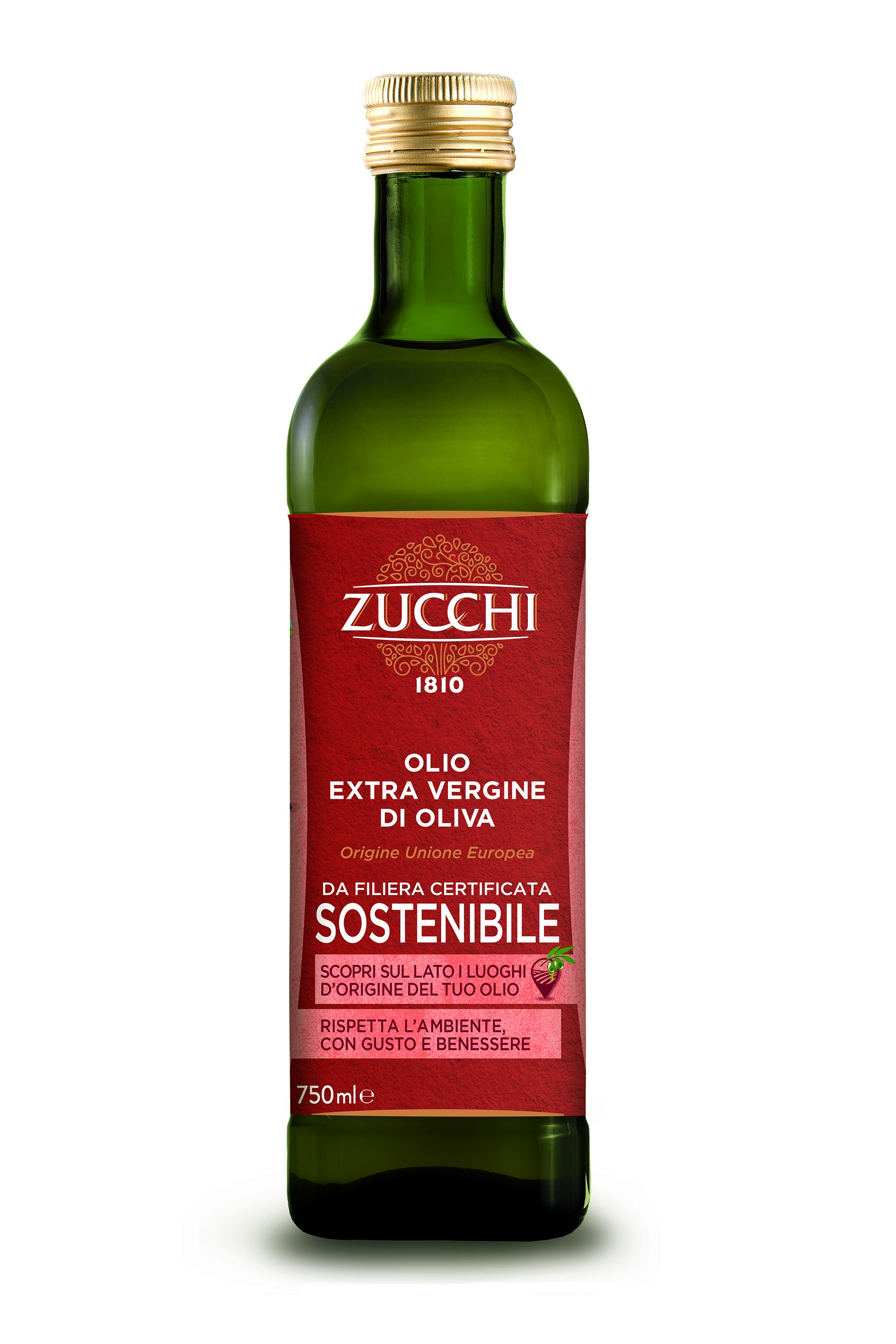Cibus, Oleificio Zucchi: prima gamma EVO sostenibile