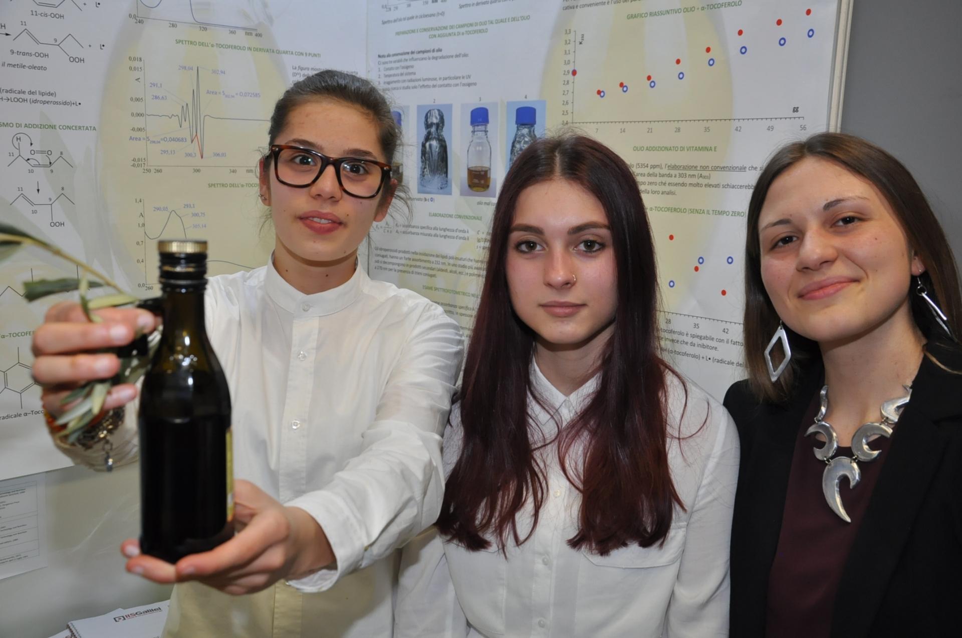 Nuovi studi sull'olio