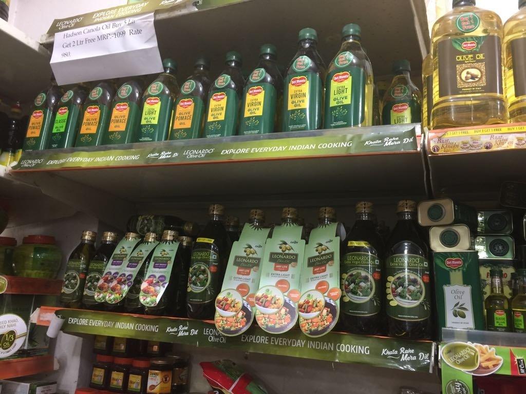 I dazi sull'olio in India