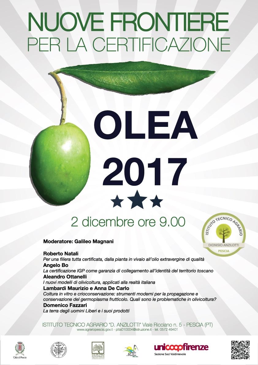 Istituto tecnico agrario Anzilotti di Pescia, le nuove frontiere della certificazione di qualità nell'olio