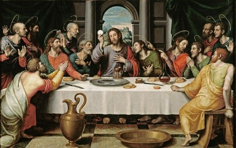 Pane e vino per l'eucaristia