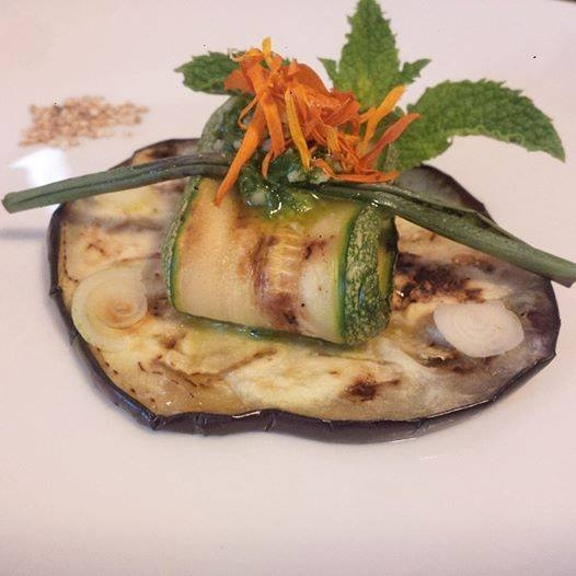Grigliata mista di zucchine, melanzane e