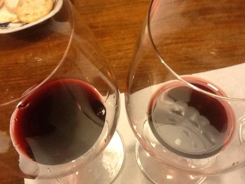 Il vino nel contenitore