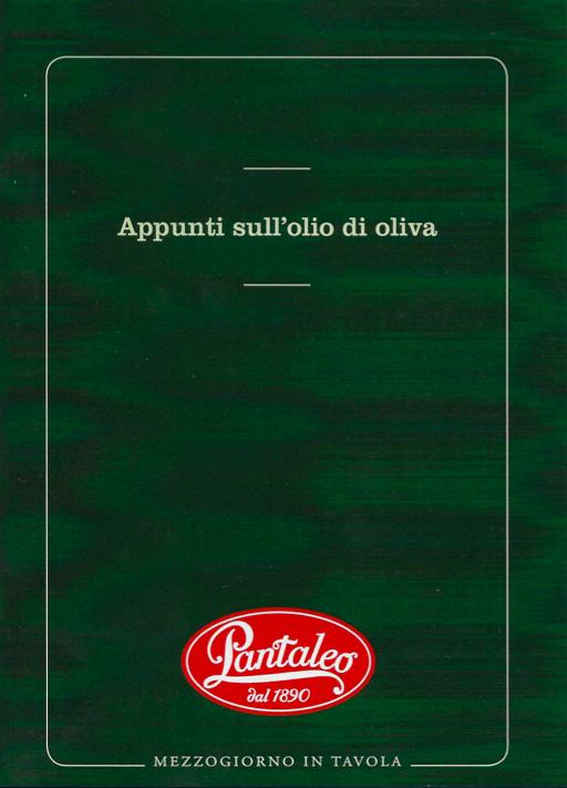 Appunti sull'olio di oliva