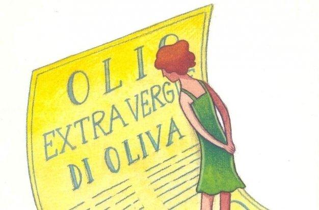 Le etichette per l'olio