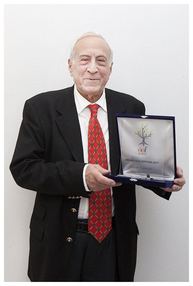 Premio OOF a Sossio Giametta