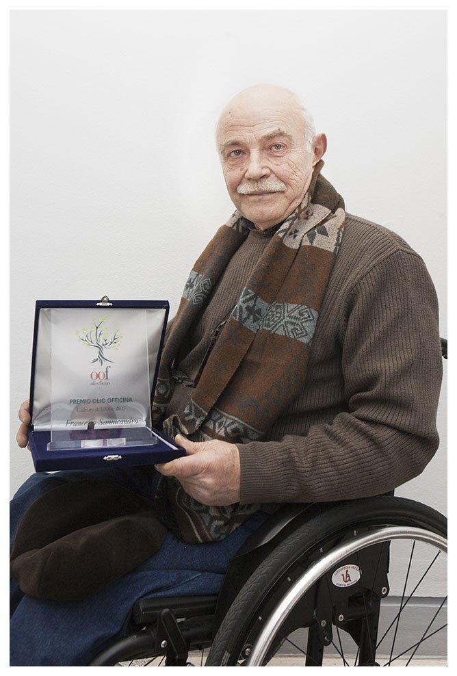 Premio OOF a Francesco Sannicandro