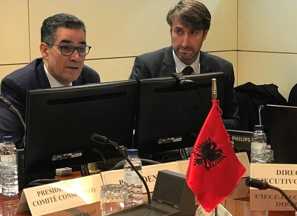 Madrid, l'Ambasciatore dell'Albania in visita alla sede del Consiglio Oleicolo Internazionale
