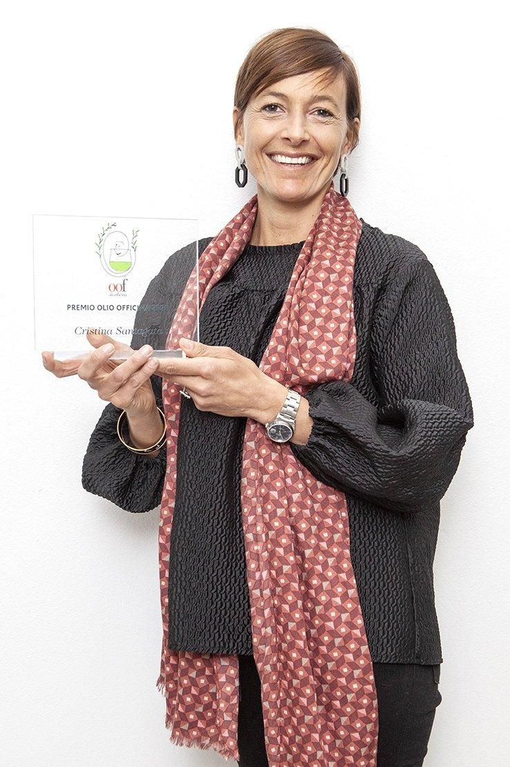 Il Premio Olio Officina cultura dell'olio a Cristina Santagata