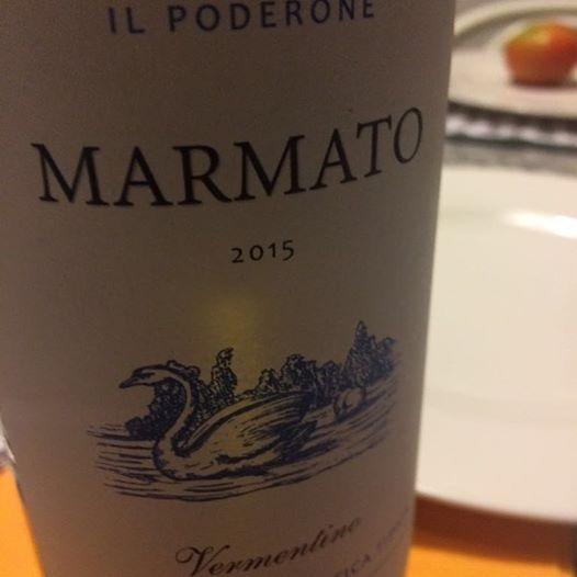 Il Marmato, un vino dalle fresche note fruttate che evoca il mare