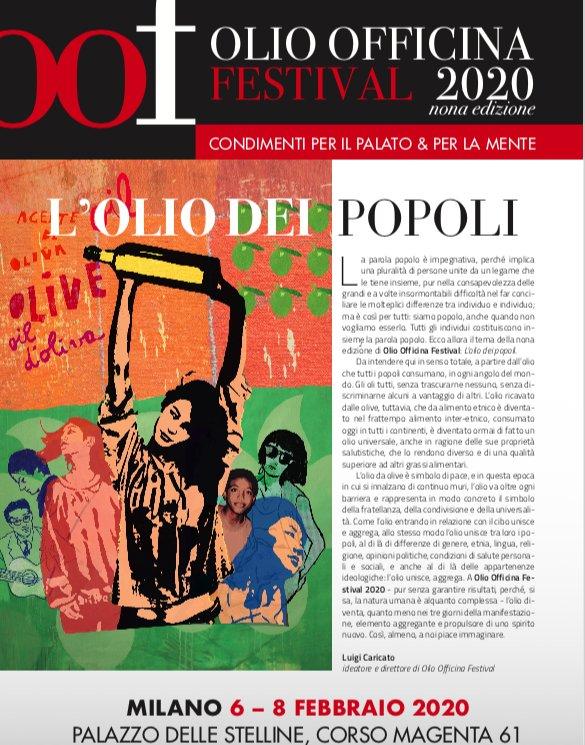 Il programma di Olio Officina Festival 2020, in venti pagine