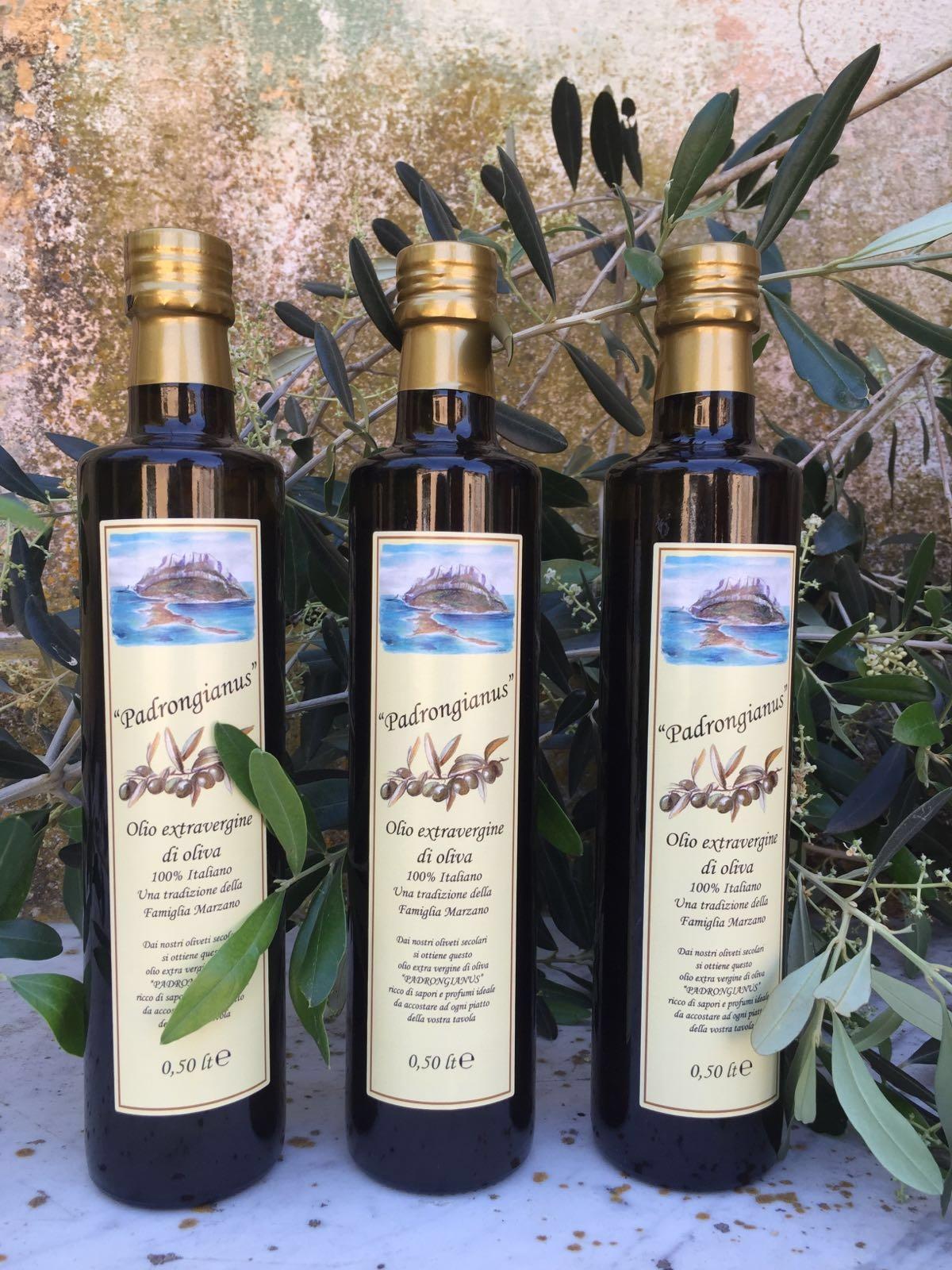 Si chiama Padrongianus e ha l'impronta sarda delle olive Bosana e Semidana