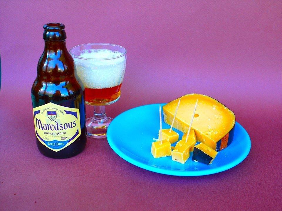 Il formaggio e la birra