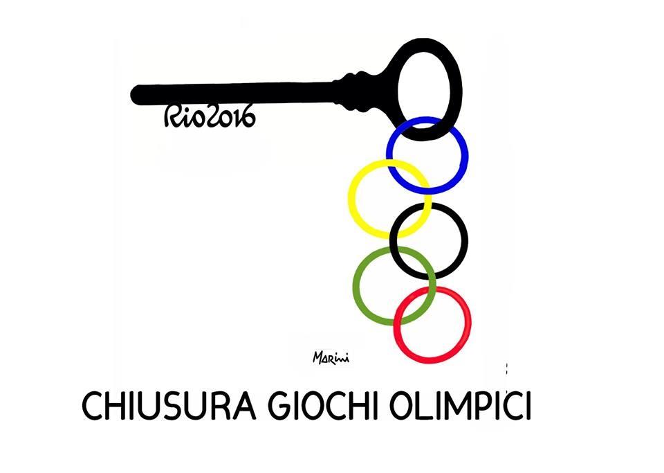 Le Olimpiadi viste da Marini