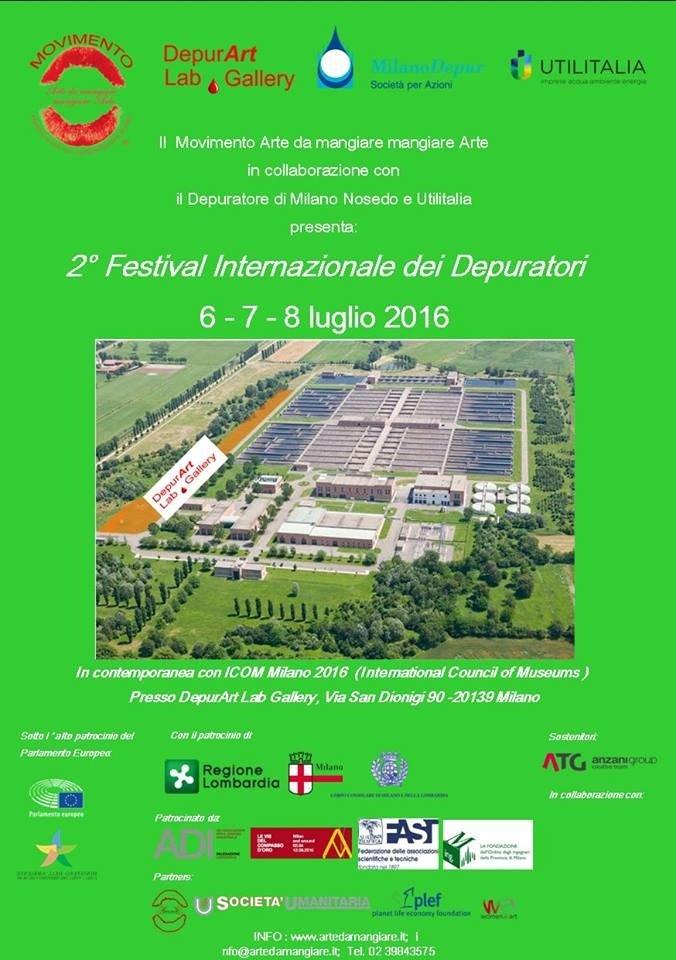 Torna a Milano Nosedo, con Arte da Mangiare, il festival internazionale dei depuratori