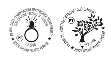Poste Italiane a Olio Officina Festival. Due speciali annulli filatelici per i collezionisti