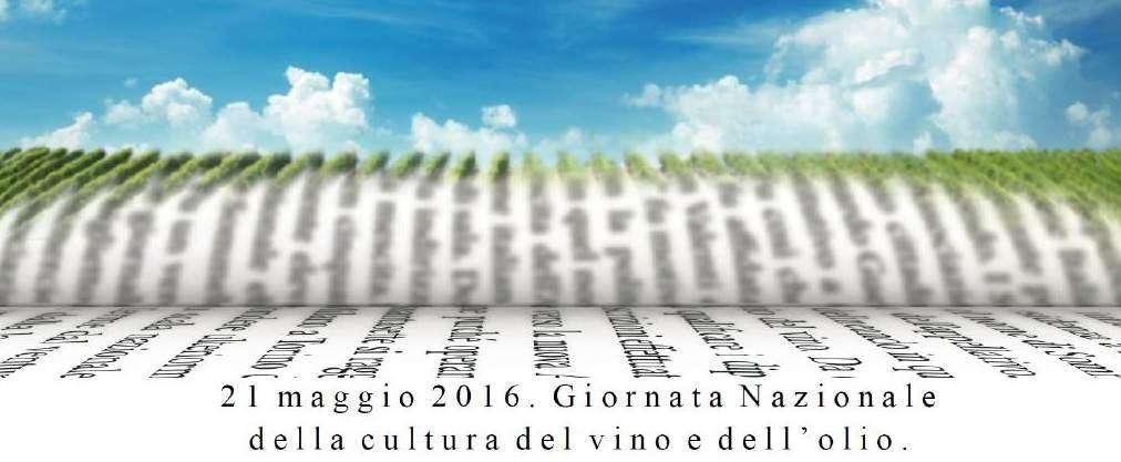 Giornata nazionale della cultura del vino e dell'olio, tutti gli appuntamenti del 21 maggio
