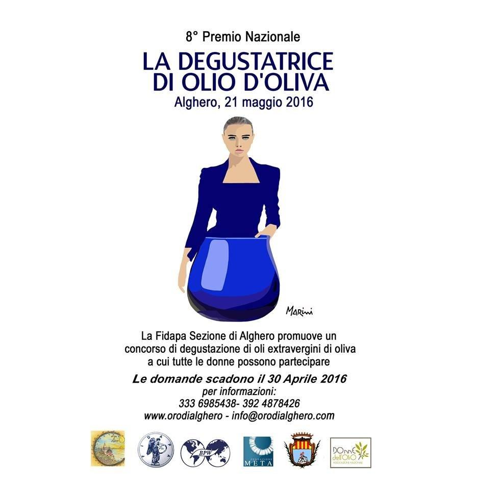 La degustatrice di olio da olive, ad Alghero l'ottava edizione di un concorso riservato alle donne