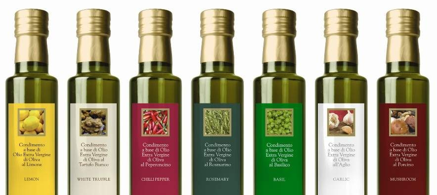 Come ti abbino l'olio aromatizzato