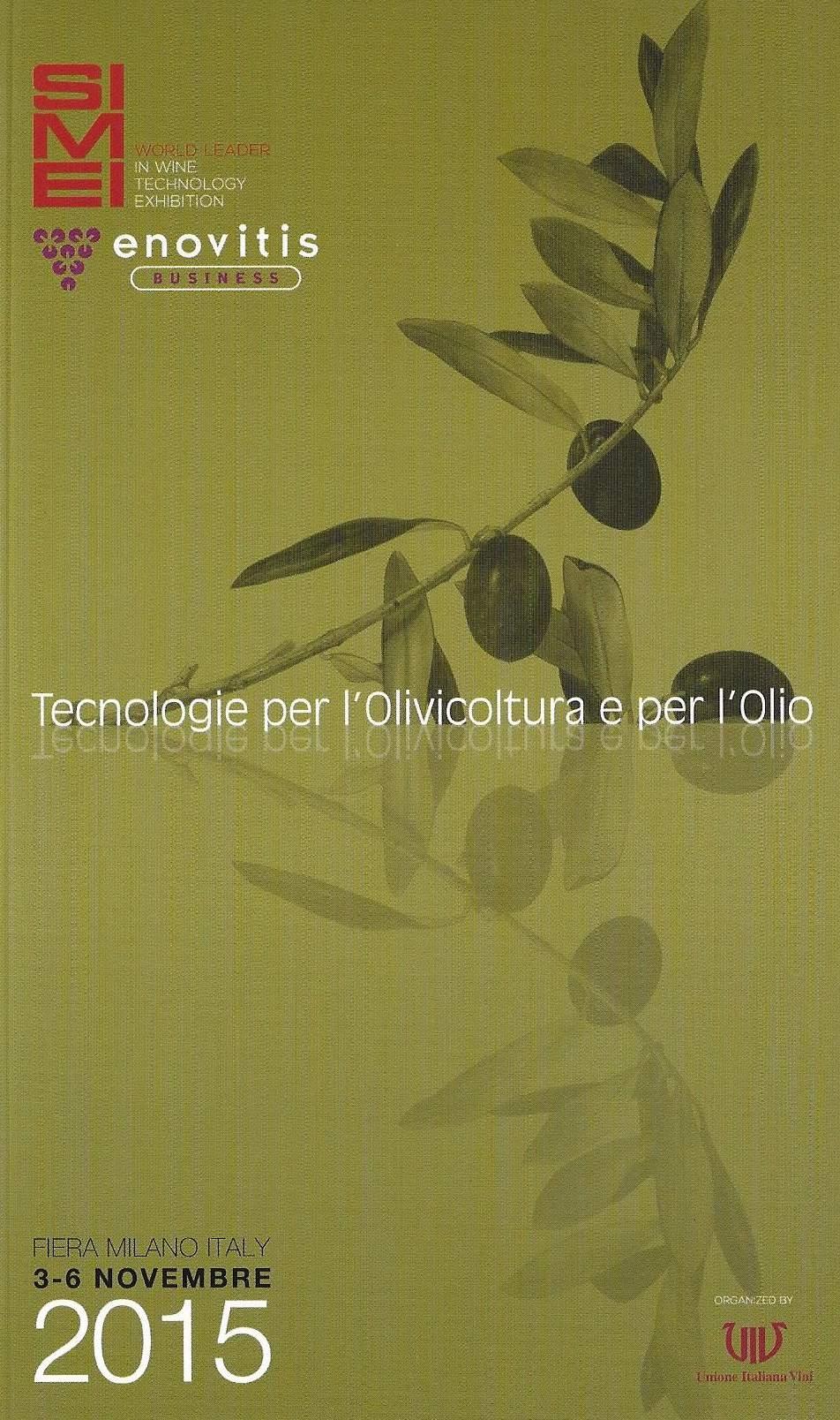 Tecnologie per l'olivicoltura e per l'olio