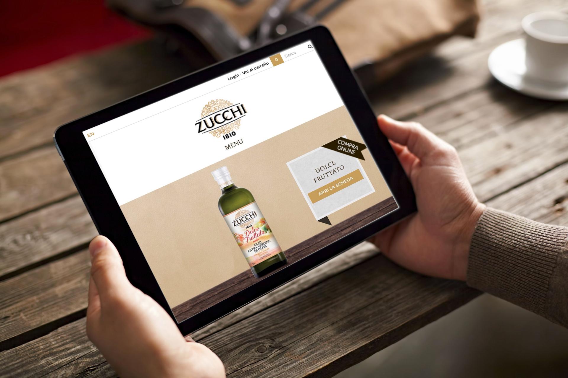 L'olio Zucchi apre un negozio on line