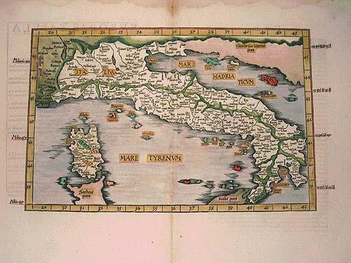 Una visione geografica dell'olio