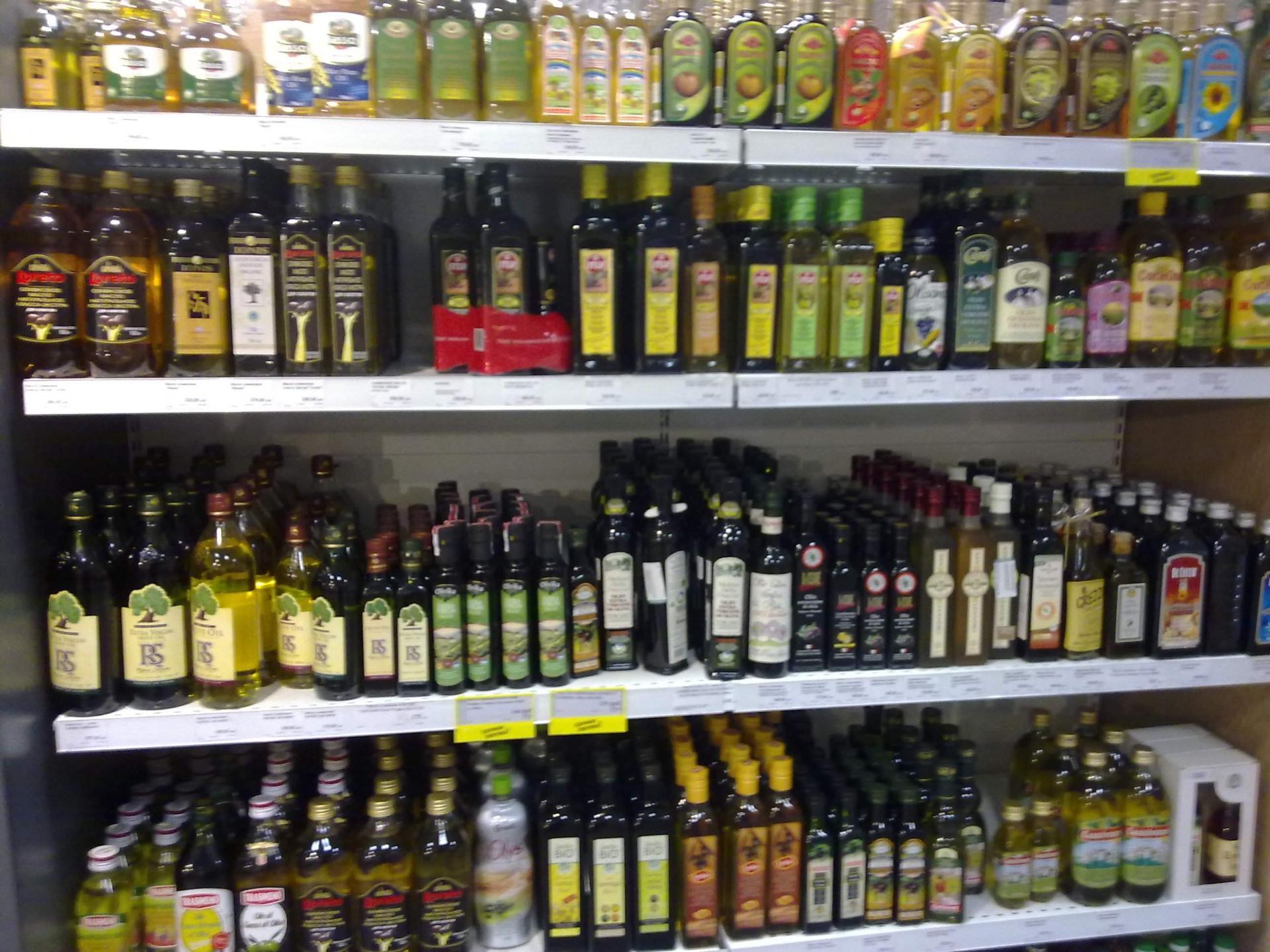 Import-export olio da olive